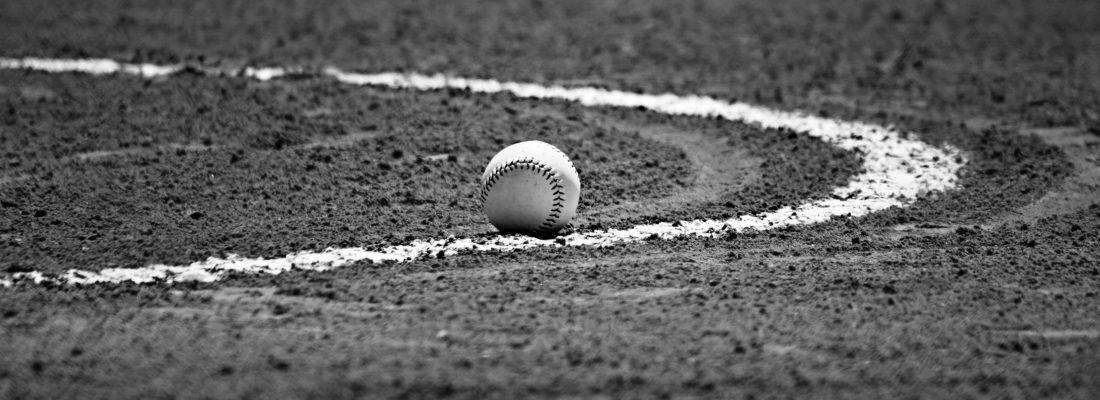 softball-ball-field-bw